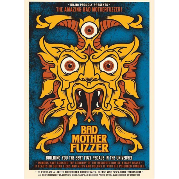 Bad-MotherFuzzer-Silkscreen-poster