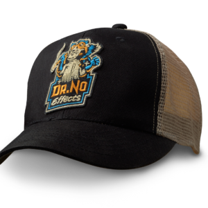 Dr.No Effects Trucker Cap with Patch